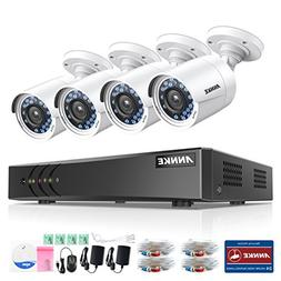 ANNKE 8CH 1080P Lite HD-TVI Surveillance DVR Camera System a