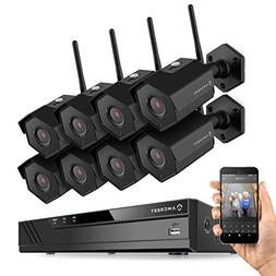 Amcrest 2MP 1080P Security Camera System w/ 4K 8CH NVR,  x 2