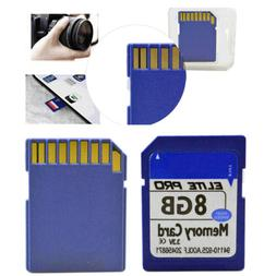8G 8GB Class 10 SDHC Flash Memory Card  For Camera Recover P