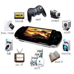 8GB MP5 Handhold Game Console 999 Games 4X Zoom Digital Vide