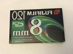 Fujifilm 8mm Videocassette P6-120 Video Camera Tapes NEW Sea