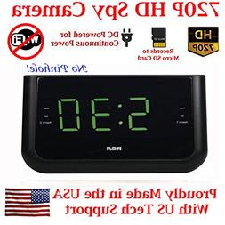 AES Spy Cameras ACRHD 720p Alarm Clock Radio HD Covert Hidde