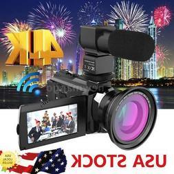 ANDOER 4K 1080P 48MP WIFI DIGITAL VIDEO CAMERA CAMCORDER HAN