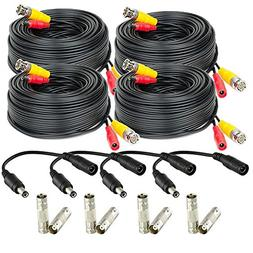 Amcrest Security Camera Cable 60FT BNC Cable, Camera Wire CC