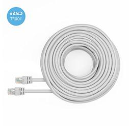 Amcrest Cat5e Cable 100ft Ethernet Cable Internet High Speed