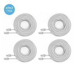 Amcrest Cat5e Cable 60ft Ethernet Cable Internet High Speed
