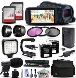 Canon 32GB VIXIA HF R62 HFR62 Camcorder Video Camera 128GB A