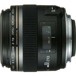 Canon EF-S 60mm f/2.8 Macro USM Fixed Lens for Canon SLR Cam