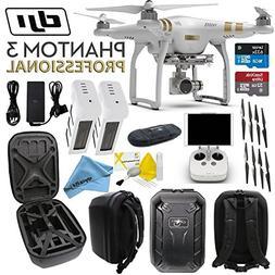 DJI Phantom 3 Professional Quadcopter Drone with 4K UHD Vide