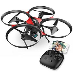 DROCON Wi-Fi Drone with FPV 720P HD Camera and Real-time Vid