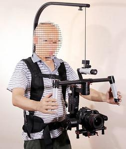 DSLR Rig Easyrig 8KG Video Camera Body Pod Back Mounted Fish