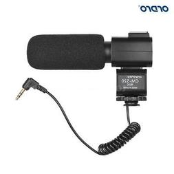 External Microphone with Hot Shoe Mount for Sony Canon Nikon