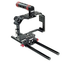 Filmcity Camera Cage for Panasonic Lumix GH4 / GH3 and Sony