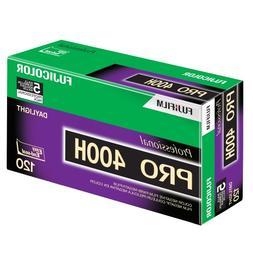 Fujifilm 16326119 Fujicolor Pro 120, 400H Color Negative Fil