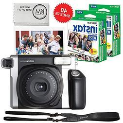 Fujifilm INSTAX Wide 300 Camera and 2 x Instax Wide Film Twi