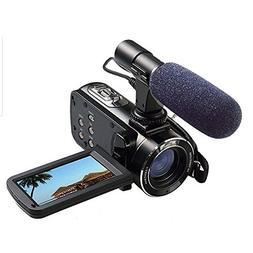 Full HD Digital Video Camera with External MIC, Model HDV-Z2