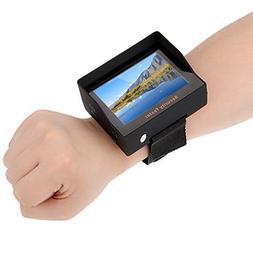 """KKmoon CCTV Tester 3.5"""" TFT Color LED Wrist Strap Security C"""