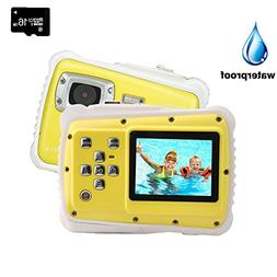 Kids Digital Camera, YTAT Underwater Digital Action Camera f