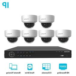 LaView 8 Channel Full HD 1080P Business and Home Security Ca