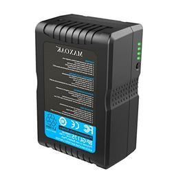 MAXOAK 177  V Mount Battery for Video Camera Camcorder
