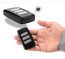 MDTEK@ 16GB +HD 4K  Mini Spy Hidden Car Keychain Camera DV P