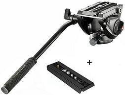 Manfrotto MVH500AH Pro Fluid Video Tripod Head with Flat Bas