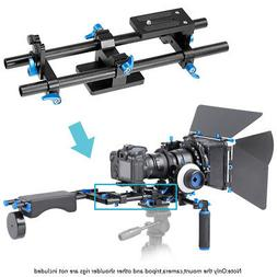 Neewer Aluminum Alloy Film Movie Making System 15mm Rod Rig