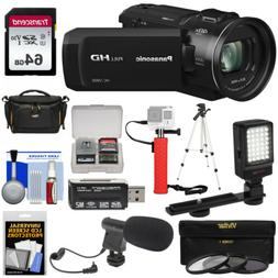 Panasonic HC-V800 Wi-Fi Full HD Video Camera Camcorder Kit