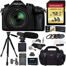 Panasonic Lumix DMC-FZ1000 4K QFHD/HD 16X Long Zoom Digital