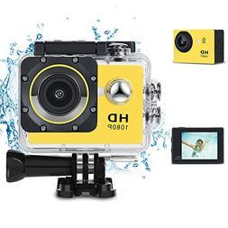KKlove Kids Digital Camera, Waterproof Camera for Kids Toy f