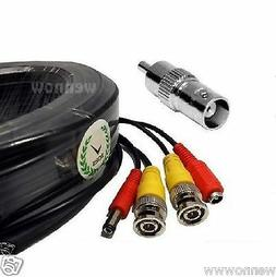 Premium Quality 60 Feet Video Power BNC RCA Cable for Q-See