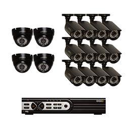 Q-See Surveillance System QT9316-16AJ-2 16-Channel HD Analog