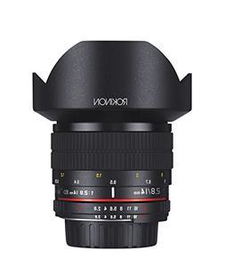 Rokinon 14mm f/2.8 IF ED UMC Ultra Wide Angle Fixed Lens w/