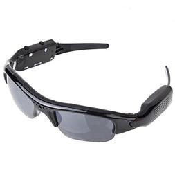 SUKEQ Camera Sunglasses, High-Def HD Video Recording Sport S
