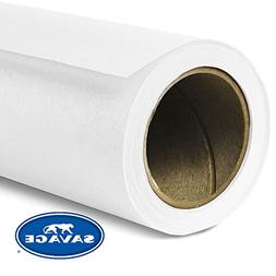 Savage Seamless Background Paper - #1 Super White
