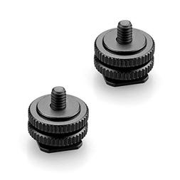 """SMALLRIG 3/8"""" to 1/4"""" Inches Tripod Mount Screw to Flash Hot"""