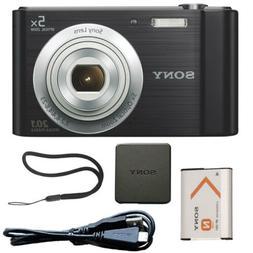 Sony DSCW800/B 20.1 MP Digital Camera