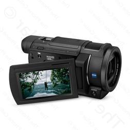 Sony - Handycam Ax33 4k Flash Memory Camcorder - Black