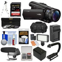 Sony Handycam FDR-AX100 Wi-Fi 4K HD Video Camera Camcorder K