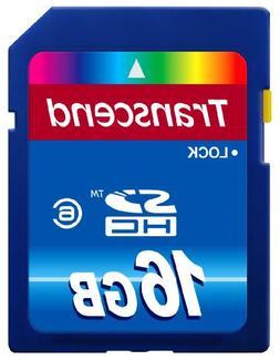 Transcend 16 GB Class 6 SDHC Flash Memory Card TS16GSDHC6