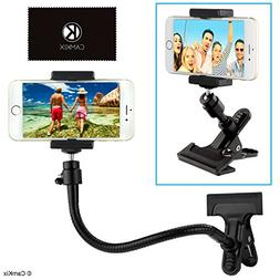 Universal Phone/Camera Holder with Flexible Gooseneck and St