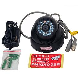 VideoSecu Day Night Vision Outdoor CCD CCTV Security Dome Ca