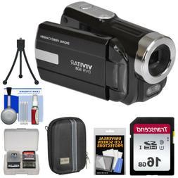 Vivitar DVR-508 HD Digital Video Camera Camcorder with Video