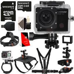 Vivitar DVR914HD 1440p Wi-Fi Waterproof Action Video Camera
