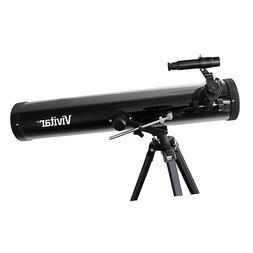 Vivitar TEL76700 263X/525X Telescope Reflector with Tripod