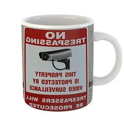 Westlake Art - Sign Camera - 11oz Coffee Cup Mug - Modern Pi