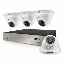 ZOSI 8CH HD-TVI 1080N Video CCTV DVR Security System w/ 4pcs