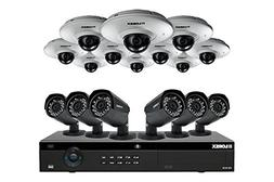Lorex A 16 channel IP camera system featuring six 2K Color N