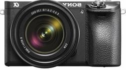 """Sony a6500 Mirrorless Camera with 18-135mm Lens with LCD, 3"""""""