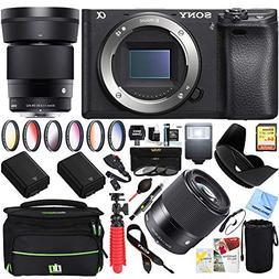Sony a6500 4K Mirrorless Camera Body w/ APS-C Sensor with 30